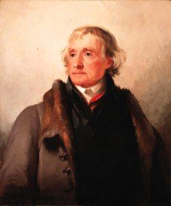 Thomas Sully. Thomas Jefferson. 1821. Copyprint of oil on canvas. Courtesy of the American Philosophical Society, Philadelphia (216)
