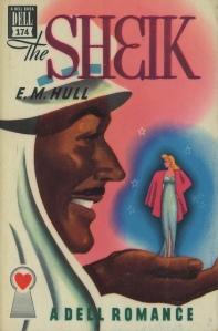 The Sheik. Dell Romance Cover, 1947.